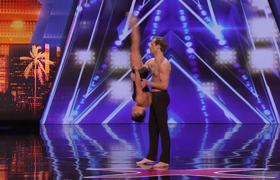 America's Got Talent 2019: AGT's SEXIEST Audition?! Acrobatic Dance Duo Excites The AGT Judges -