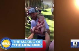 Sneak peek of the making of 'The Lion King'