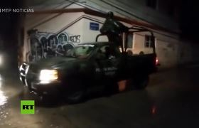 Mudslide in central Mexico kills 6 people