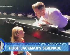 Hugh Jackman sings 'Happy Birthday' for little fan
