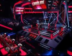 The Voice USA 2013 Christina Aguilera STEALS Anthony Paul The Battles
