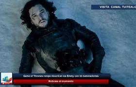 Game of Thrones rompe récord en los Emmy con 32 nominaciones