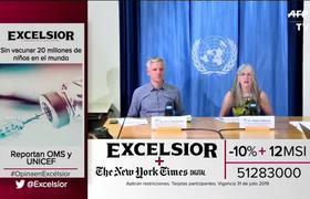 Sin vacunar 20 millones de niños en el mundo