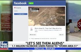 US military warns people preparing to storm Area 51