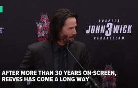 La evolucion de Keanu Reeves