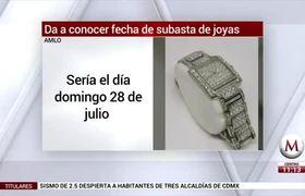 AMLO propone hacer 'expo' de joyas decomisadas al narco