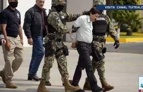 El Chapo cavó túnel en Altiplano antes de extradición a EU