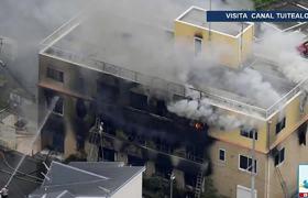 Incendio provocado en estudio Kyoto Animation de Japón deja al menos 30 muertos