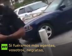 Officer caught on video using the n-word in US