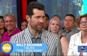 'The Lion King's Billy Eichner talks his royal meeting with Harry and Meghan