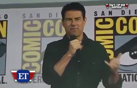 Tom Cruise's Surprise Appearance at Comic-Con 2019!