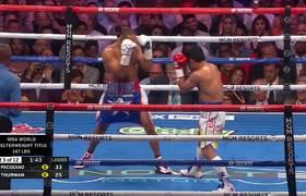 Pacquiao beats Thurman for WBA Super World Welterweight Championship belt