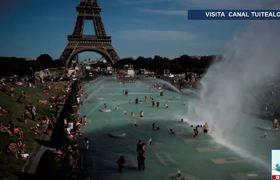 Europa en alerta por nueva ola de calor con temperaturas de 40 °C
