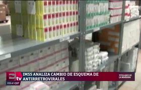 IMSS garantiza medicamentos para 60 mil pacientes con VIH