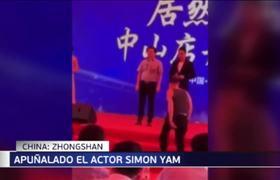 Apuñalan a Actor en el Corazon Simon Yam se encuentra fuera de peligro tras ser apuñalado sobre el escenario