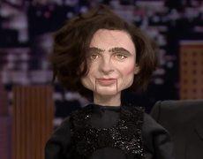 Jimmy Bought That Creepy Viral Timothée Chalamet Puppet on eBay