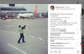 Video of dancing Toronto airport worker goes #VIRAL