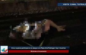 Mujer muere al volcar su camioneta en el segundo piso del Periférico a la altura de San Jerónimo