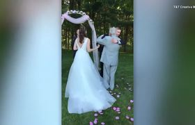 Why Double Amputee Wore Dress for 1st Time Ever at Wedding