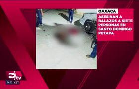 Asesinan a 7 personas en Petapa, en el Istmo