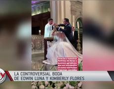 La boda de Edwin Luna y Kimberly Flores llena de lujos