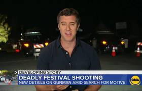 Suspect identified in deadly Garlic Festival shooting
