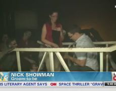 Man proposes marriage in Phoenix Haunted House