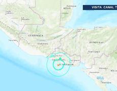 Sacude a Guatemala SISMO de magnitud 6 con epicentro en El Salvador Temblor