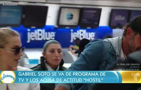 Gabriel Soto explicó por qué abandona programa de TV