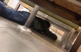 Mujer se esconde en #Walmart durante tiroteo en El Paso, Texas