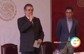 México alista acciones jurídicas ante los hechos en El Paso, Texas : Marcelo Ebrard