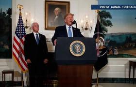 Donald Trump da condolencias a México y condena racismo