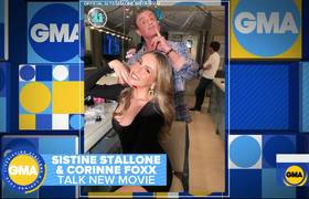 Sistine Stallone and Corrine Foxx talk '47 Meters Down Uncaged'