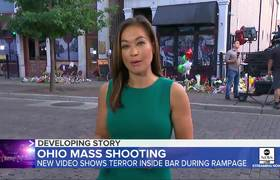 New #video shows Dayton suspect trying to get inside bar