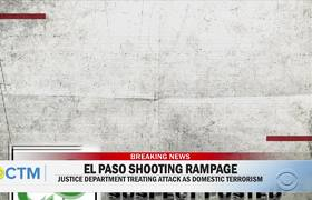 Witness speaks about being in #ElPaso shooter's crosshairs