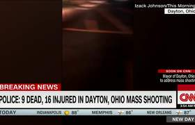 Witness captures shots fired in Dayton, Ohio