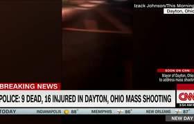 Testigo logra captar en vide la balacera en Dayton, Ohio