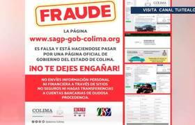 Alertan a colimenses por página falsa de Gobierno usada para fraudes