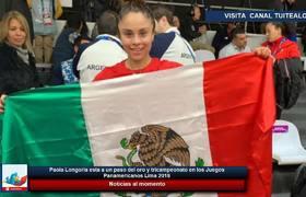 Paola Longoria esta a un paso del oro y tricampeonato en los Juegos Panamericanos Lima 2019