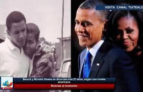 Barack y Michelle Obama se divorcian tras 27 años