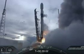 SpaceX rocket deploys AMOS-17 communications satellite