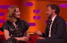 James McAvoy Tests Jessica Chastain On Understanding A Scottish Phrase