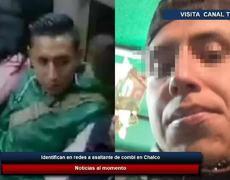 Identifican en redes a asaltante de combi en Chalco