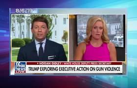 Late Show: Donald Trump elige peleas políticas mientras visita Dayton y El Paso