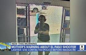 El Paso shooter's mother warned police: Lawyers
