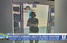 Madre del autor de la masacre en El Paso, advirtió a la policia: Abogados
