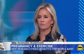 GMA: Exercise during pregnancy helps babies: Study