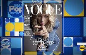 GMA:Taylor Swift graces cover of Vogue's September issue