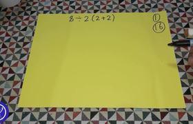 #VIRAL: El problema matemático que se ha hecho viral | 8/2(2+2)