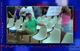 The Late Show: Trump Greeted By Protests In Dayton And El Paso